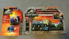 Gyrosphere Mattel Ovp 2x Matchbox Jurassic World Dilopho-Transporter Truck