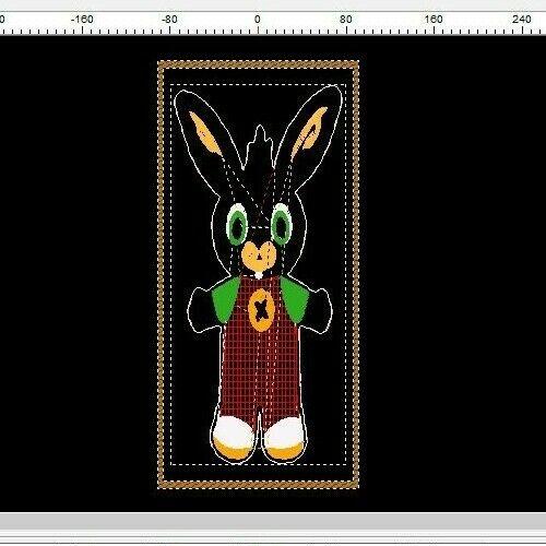 FILE RICAMO BING APPLIQUE PES Embroidery Designs files
