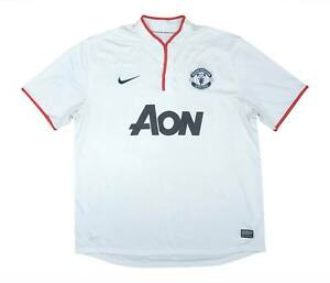 Manchester United 2012-14 Authentic Away Shirt (eccellente) XL soccer jersey