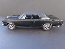 1966 Chevy Chevelle SS 396 Rare American Muscle 1/18 Die-cast Rare Black Interio