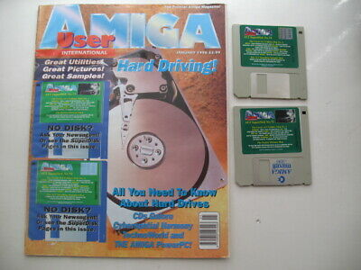 Amiga Utente Internazionale Rivista Gennaio 1996- Per Godere Di Alta Reputazione Nel Mercato Internazionale