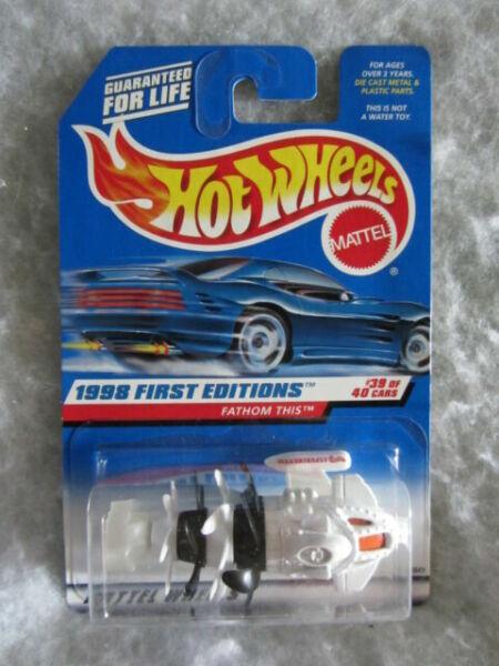 1999 Hot Wheels #928 First Edition 23//26 CHRYSLER PRONTO Yellow w//Chrome 5 Spoke