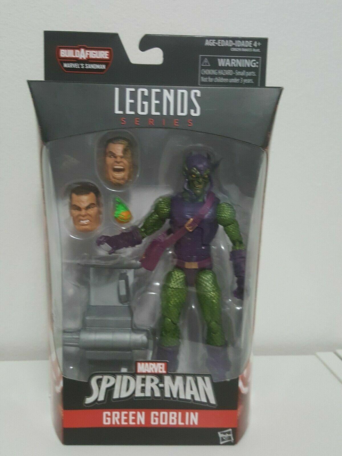 Marvel Legends Duende verde Sandman