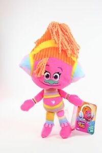 TROLLS-plush-DJ-SUKI-12-034-soft-toy-Hug-039-N-Plush-DreamWorks-movie-NEW