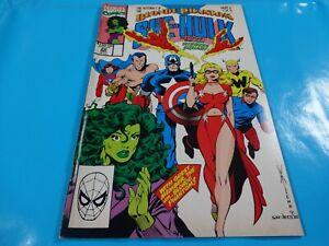 vtg-blonde-phantom-sensational-she-hulk-2-of-3-Marvel-Comic-book-1st-print