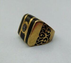 Très ancienne RARE Bronze Bague Style Viking Authentique très magnifique bijoux