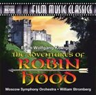 Erich Wolfgang Korngold: The Adventures of Robin Hood by Moscow Symphony Orchestra/William T. Stromberg (Conductor) (CD, May-2015, Naxos DVD)