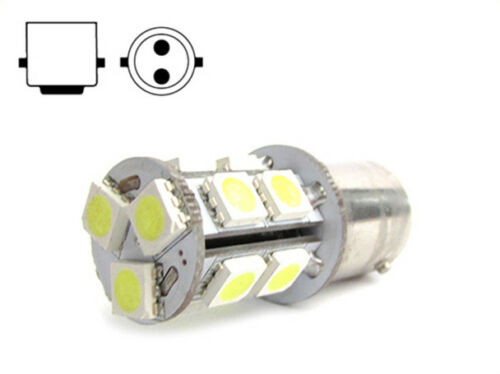 A2ZWORLD LAMPADA LED TUBOLARE MINIATURIZZATA BA15D 220V 2W BIANCO FREDDO PER SEG