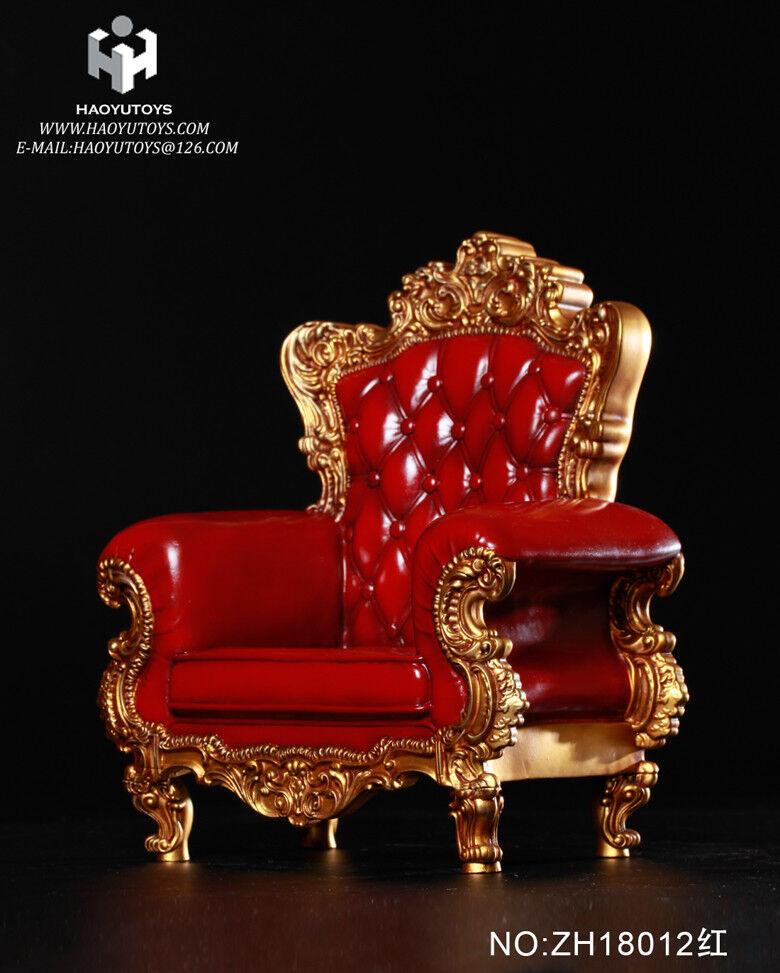 HaoYuToys ZH18012 ZH18012 ZH18012 Red color 1 6 Scale Single Sofa Model F 12  Figure Body 3.0 7213d7