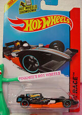 Case M/N 2014 i Hot Wheels F1 RACER #146 ☆Black/Orange/White Driver;8~Race Team