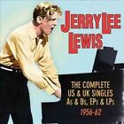 The Complete US & UK Singles As & Bs, EPs & LPs: 1956-62 * by Jerry Lee Lewis (CD, Nov-2014, 2 Discs, Acrobat (USA))