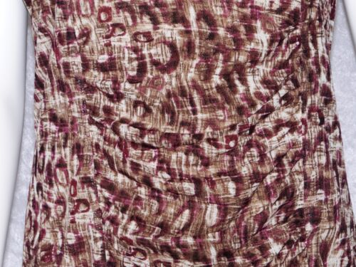 a in seta corte misto Xl beige marrone Classiques corta Entier maniche manica Atelier Camicetta za88TnqYP