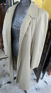 Vintage-BURBERRYS-Trench-Coat-Mens-Large-Made-in-England