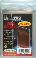 Ultra Pro 100 Trading Card Sleeves - Standard Size Deck Protectors - Pokemon MTG