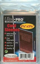 Ultra Pro 100 Trading Card Sleeves - Standard Size Deck Protectors - Pokemon MTG