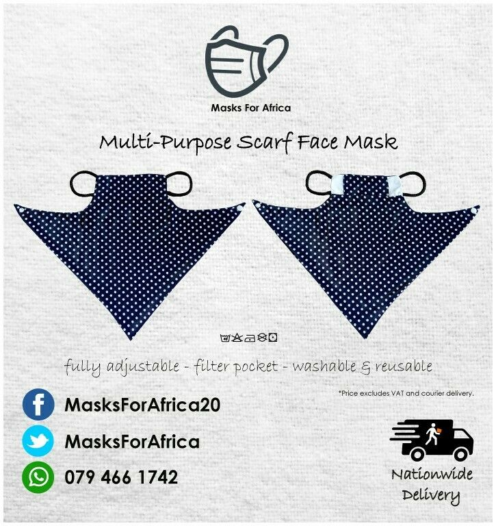 - Multi-Purpose Face Scarves -