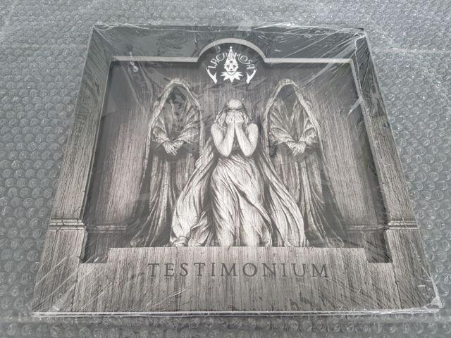 LACRIMOSA: Testimonium DELUXE 2 LP, lim. 999 NOTVD Gothic Hoffnung Relief-LP