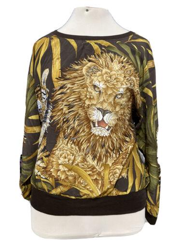 Salvatore Ferragamo Women's Blouse/Shirt tiger pa