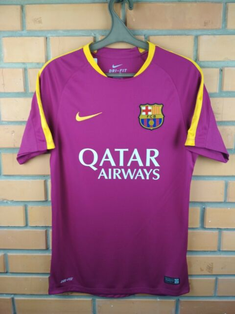 new arrival 98a0b 612ee Barcelona Jersey Small Training Shirt 686600-560 Soccer Football Nike