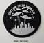 miniature 23 - Sew Iron On Round Patches Popular Badge Transfer Embroidered Funny Biker Slogan