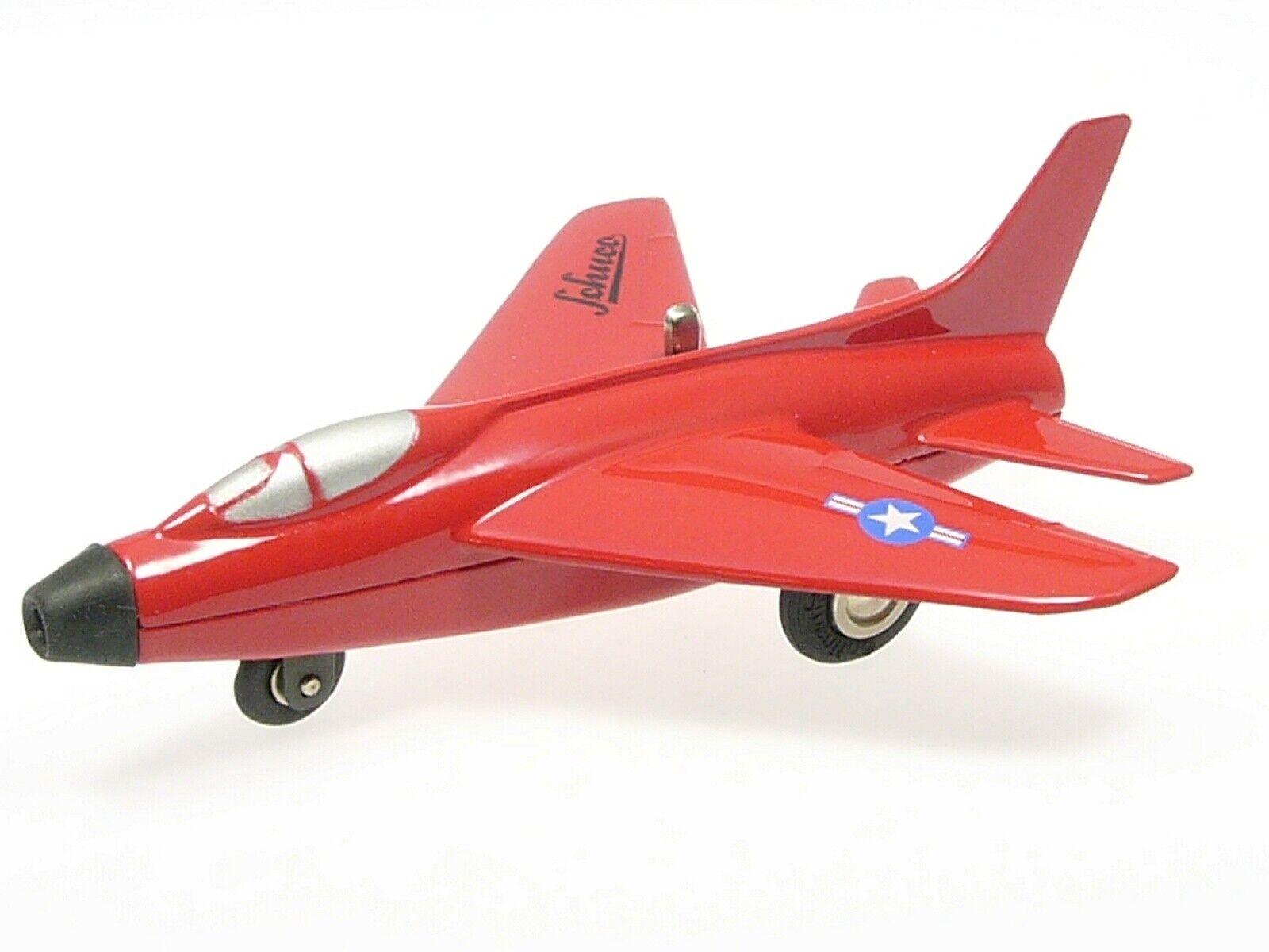 Schuco Micro-Jet  Super Sabre F 100  rot     01781