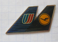 LUFTHANSA / UNITED AIRLINES / LEITWERK    ..............Airline-Pin (118e)