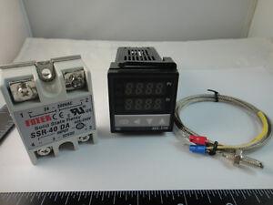 100-240V-Digital-PID-Temperature-Controller-max-40A-SSR-K-Thermocouple-Probe
