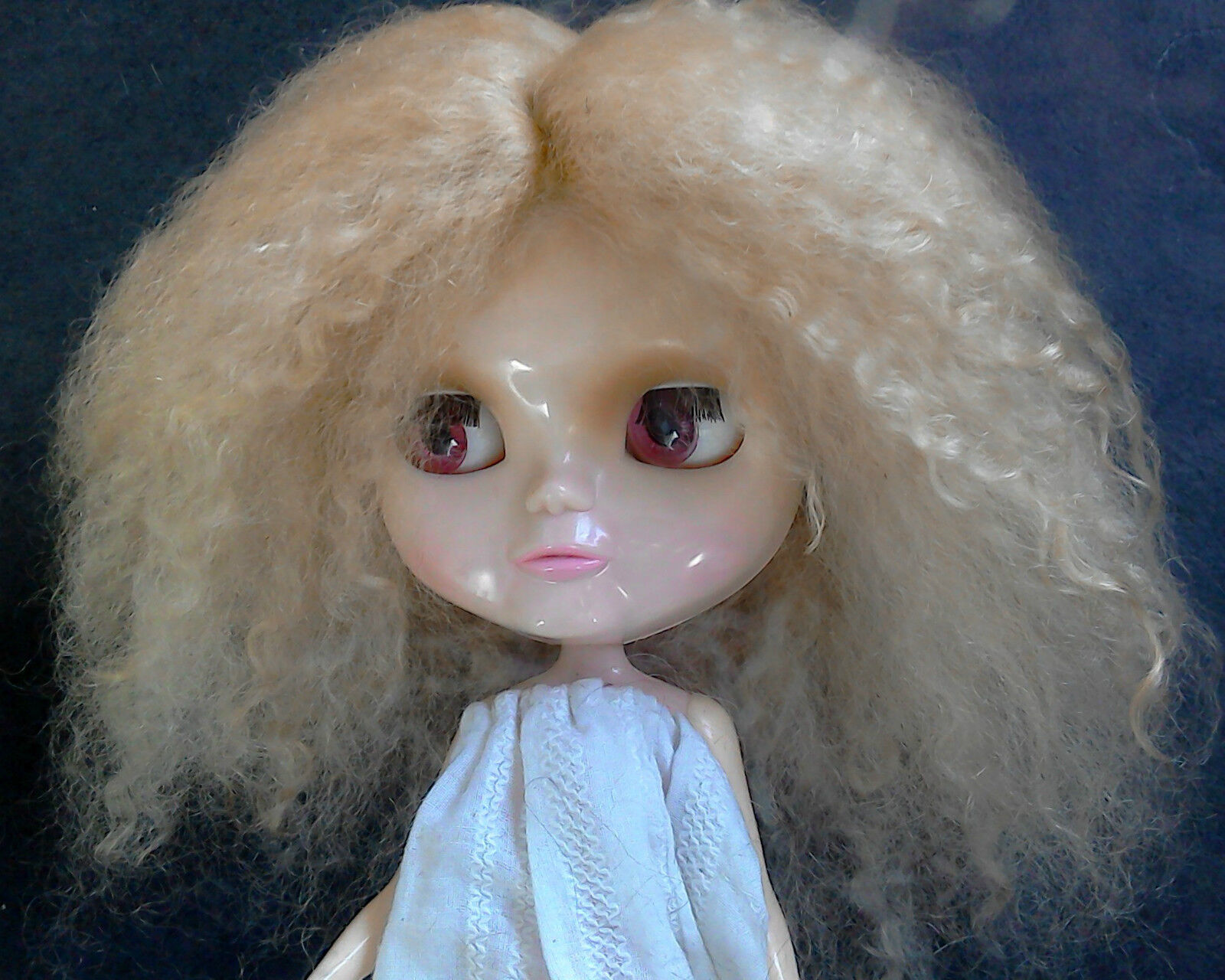 Doll Wig in Ethical Mohair Brauns and Blondes