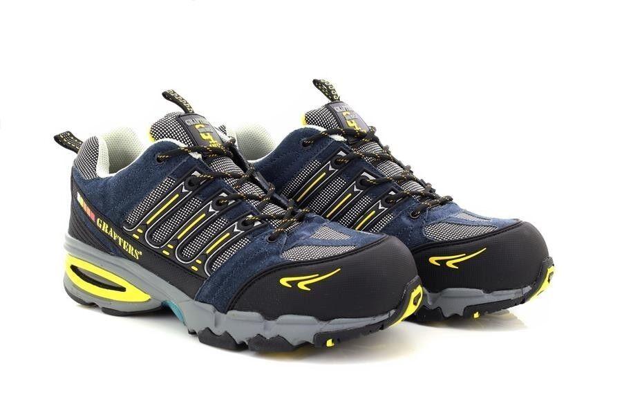 Grafters M129 Unisex Nighthawk Composito Non Metallo Safety shoes da Ginnastica