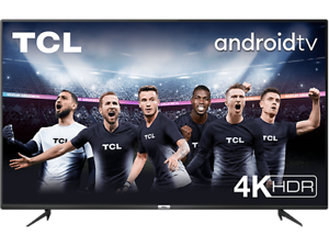 """TV LED 43"""" TCL43P615,Android TV,4K,Google Assistant y Alexa,Dolby Atmos,Smart TV"""