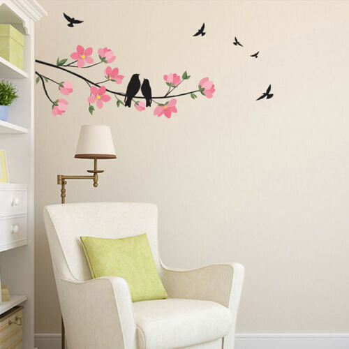 Flower Tree Home Room Art Decor DIY Wall Sticker Removable Decal Vinyl Mural