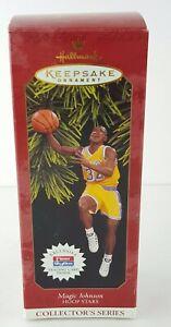 Hallmark-Christmas-Keepsake-Ornament-MAGIC-JOHNSON-Los-Angeles-Lakers-New-1997