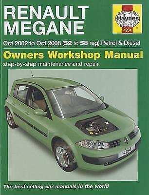 1 of 1 - Renault Megane Petrol & Diesel: 2002 to 2008 Hanyes Manual 4284