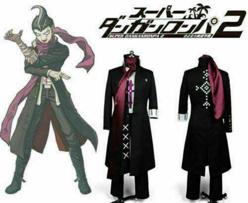 Danganronpa Dangan Ronpa Outfit Gundham Gundam Tanaka Cosplay Costume Suit ~~