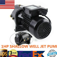 1hp Cast Iron Shallow Well Jet Water Pump For Home Garden Water Supply Usa