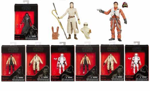 "Star Wars The Force Réveille Black Series 3.75/"" ACTION FIGURE"