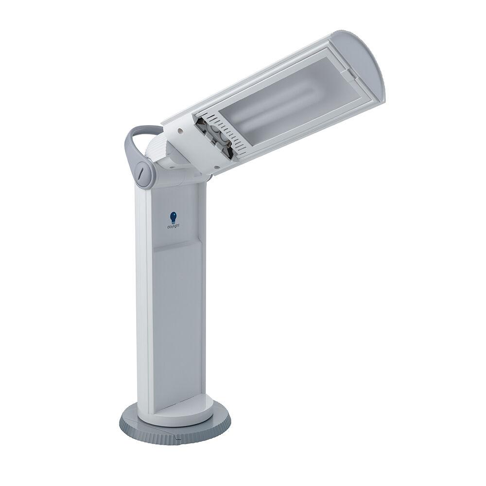 Daylight Company Portable Twist Lamp Table   Desk Reading Lamp D33700