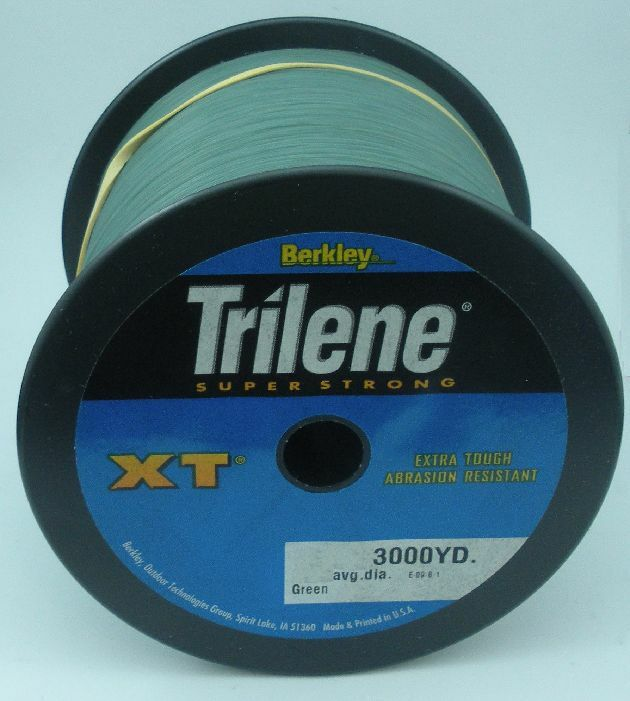 Berkley XT302522 25 Lb Trilene XT Monofilament Line 3000yd LowVisverde 10657