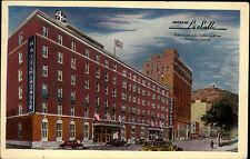 Montreal Canada postcard ~1950/60 Hotel de La Salle Drummond St Catherine Street