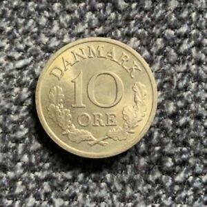 10 Öre Øre 1970 Dänemark Danmark Frederick IX KM#849 - Neumünster, Deutschland - 10 Öre Øre 1970 Dänemark Danmark Frederick IX KM#849 - Neumünster, Deutschland