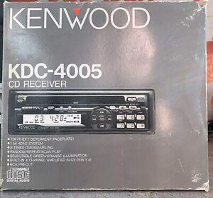 Shop-Display-Old-School-Kenwood-KDC-4005-Cd-Player-RARE-Vintage-in-box