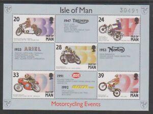 Isle-of-Man-1993-Motor-Cycling-Events-sheet-MNH-SG-MS572