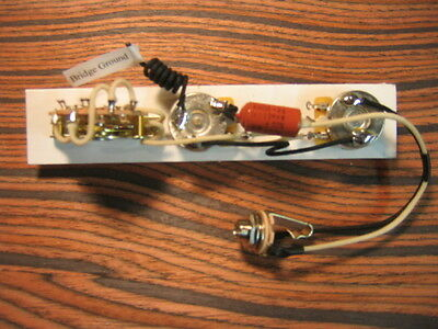 Wiring Harness for Telecaster - 1966 Style: CTS, 0.022 K40n-2a PIO, Oak Grigsby