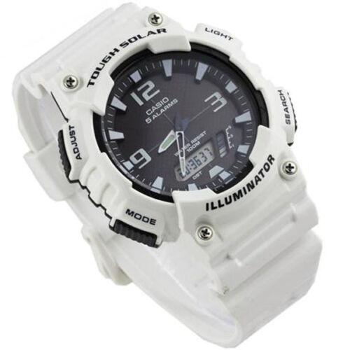 31b7c772123 Casio New AQ-S810WC-7 White Digital Analog Mens Watch Tough Solar ...