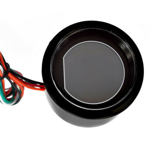 """2/"""" 52mm Blue//Red Digital LED Water Temp Temperature Gauge With Sensor Car AUTO"""