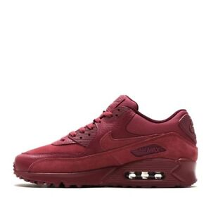 low priced 54ec4 4a4ab Image is loading Nike-Air-Max-90-Premium-Vintage-Wine-700155-