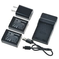 Generic 2x 1300mAh NP-W126 Battery Combo For Fujifilm FinePix HS30EXR HS33EXR