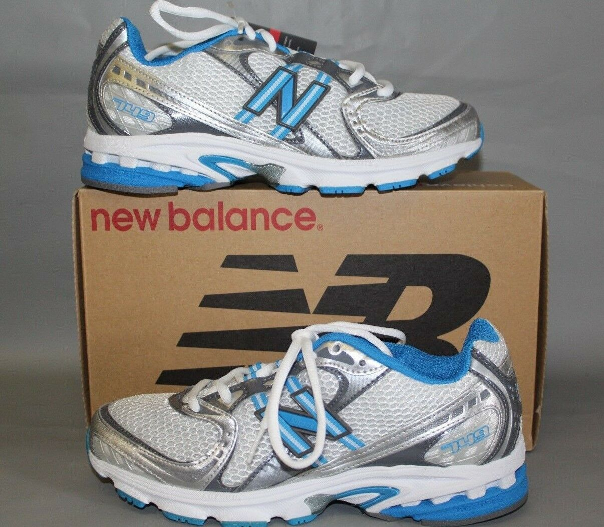 NEW Women's New Balance WR749ST Size 10.5 Medium Supportive Walking Shoe White