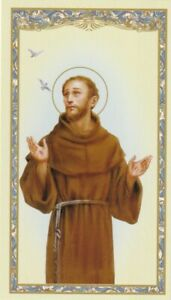 HC-Holy-Card-034-Prayer-of-Saint-Francis-of-Assisi-034-Prayer-on-Back-25
