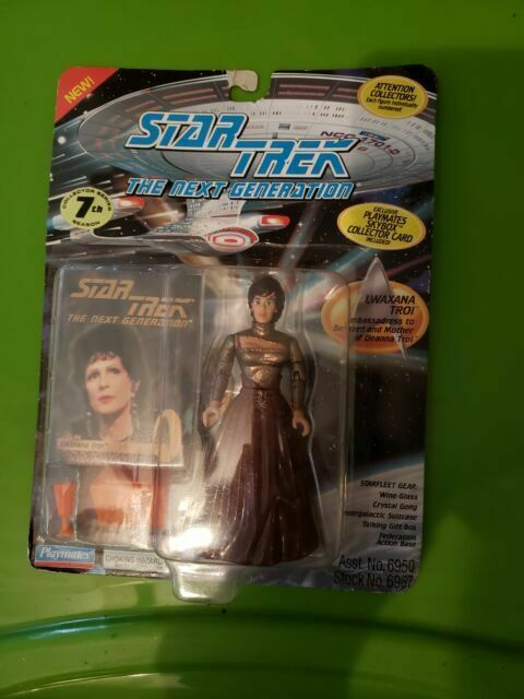 Star Trek The Next Generation Lwaxana Troi LOOSE Action Figure 1994